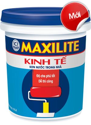 Son nuoc Maxilite trong nha - sonnhadepgiare